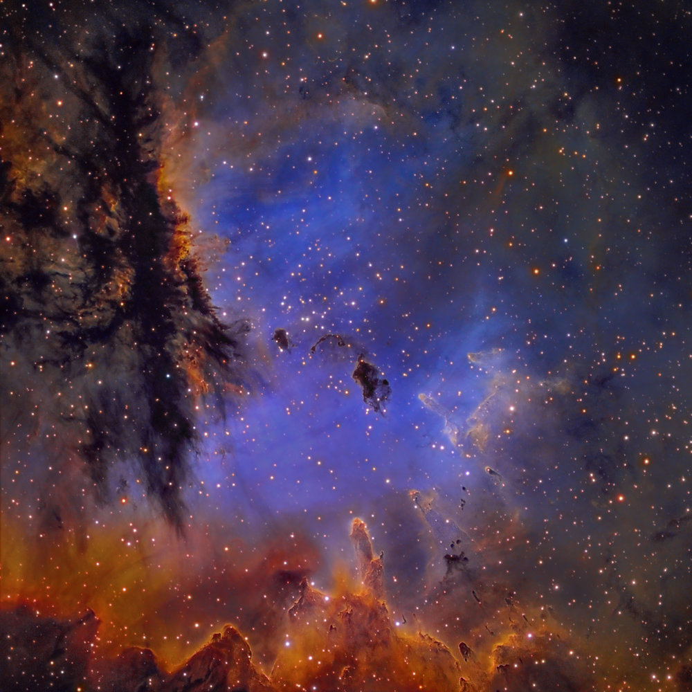 NGC 281 Narrowband (SRO-California)
