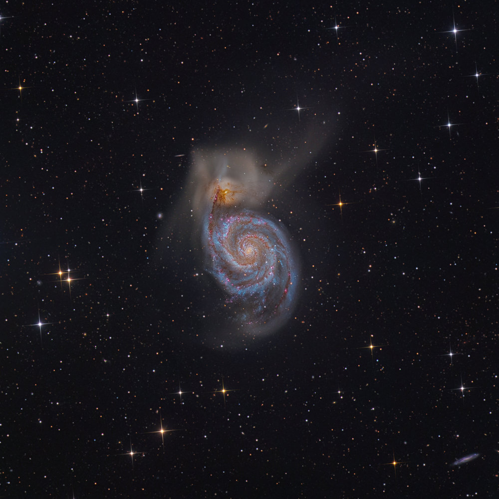 M51 The Whirplool Galaxy
