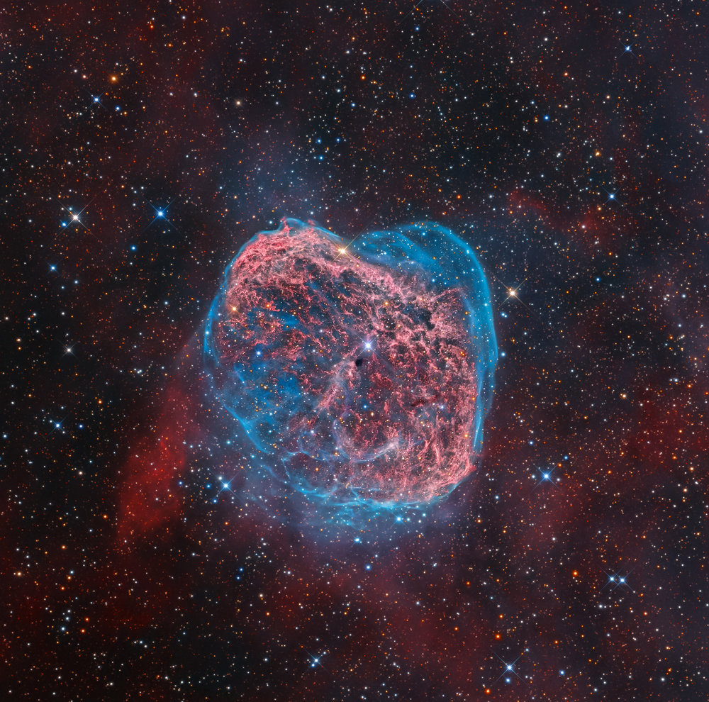 NGC 6668 The Crescent Nebula