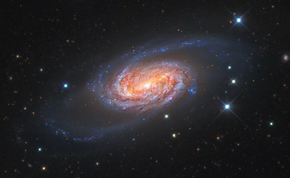 100%crop of NGC 2903