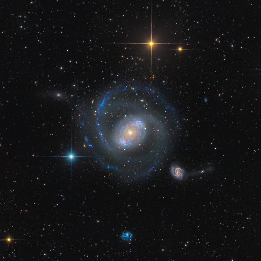 NGC 4151  (SWO in New Mexico)