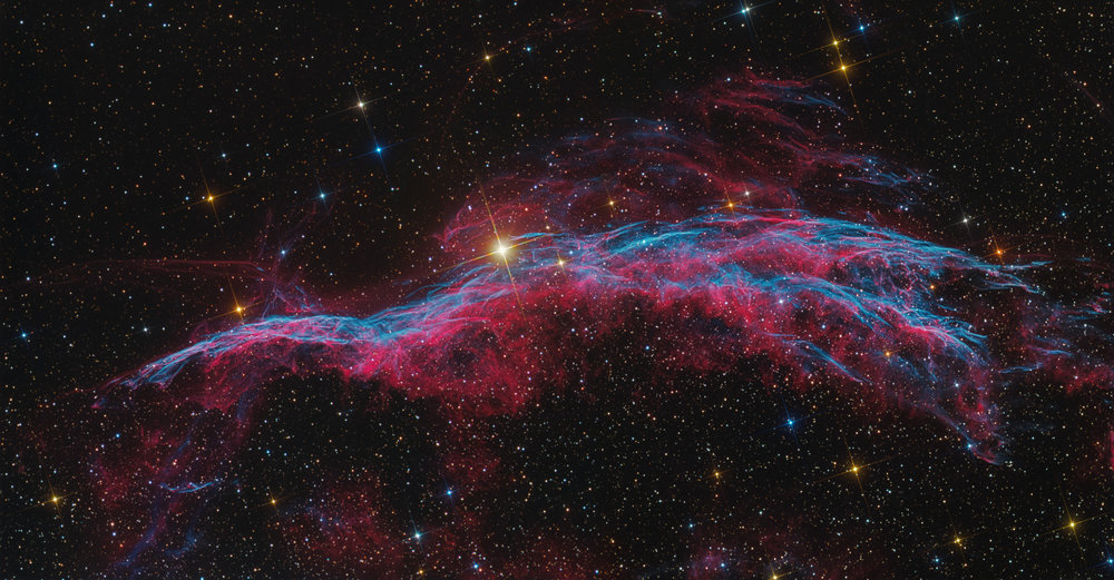 NGC 6969 The Witch's Broom Nebula