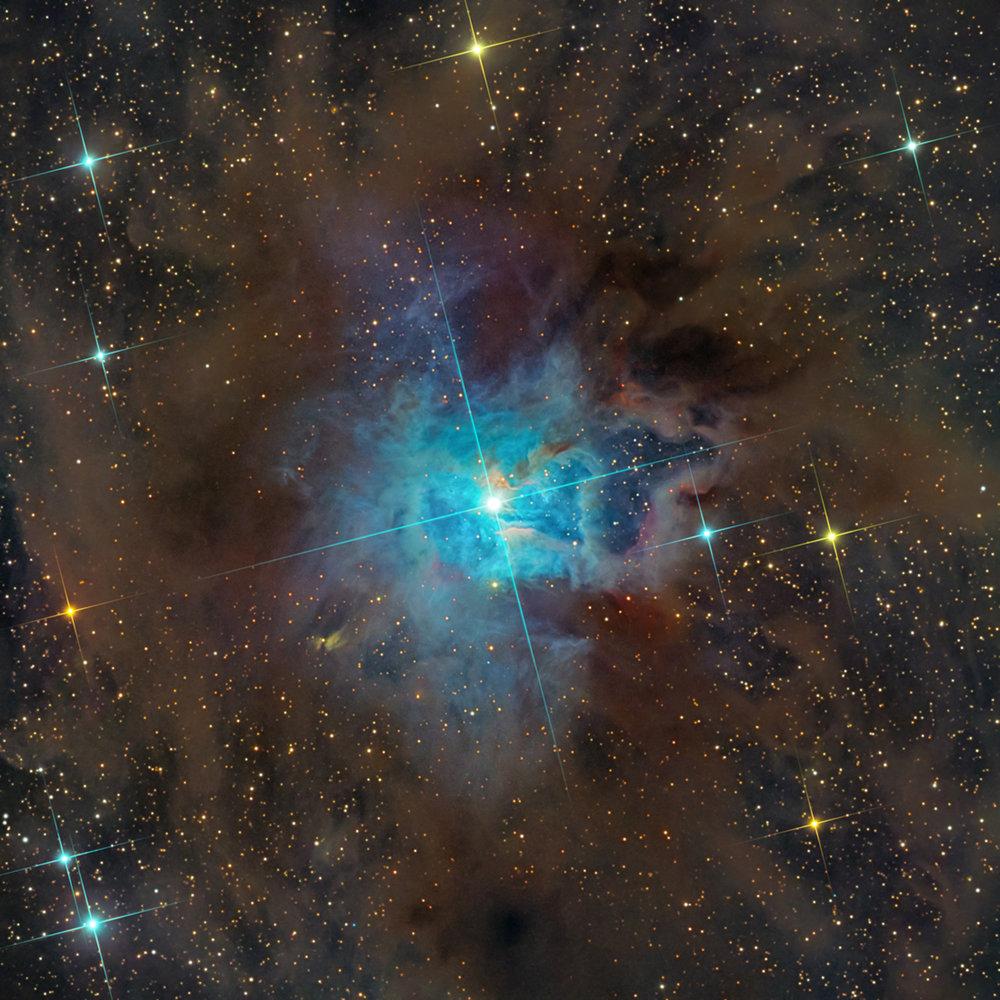 Iris Nebula-NGC 7023