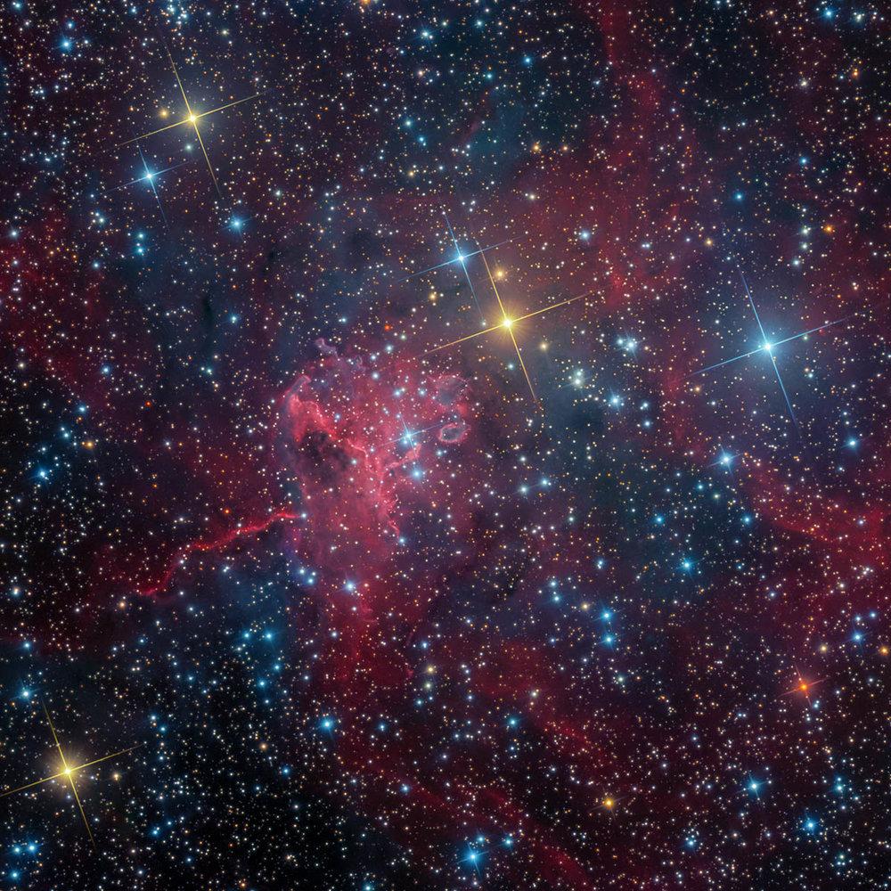 SH2-234 - IC 417 - Spider Nebula (SWO)