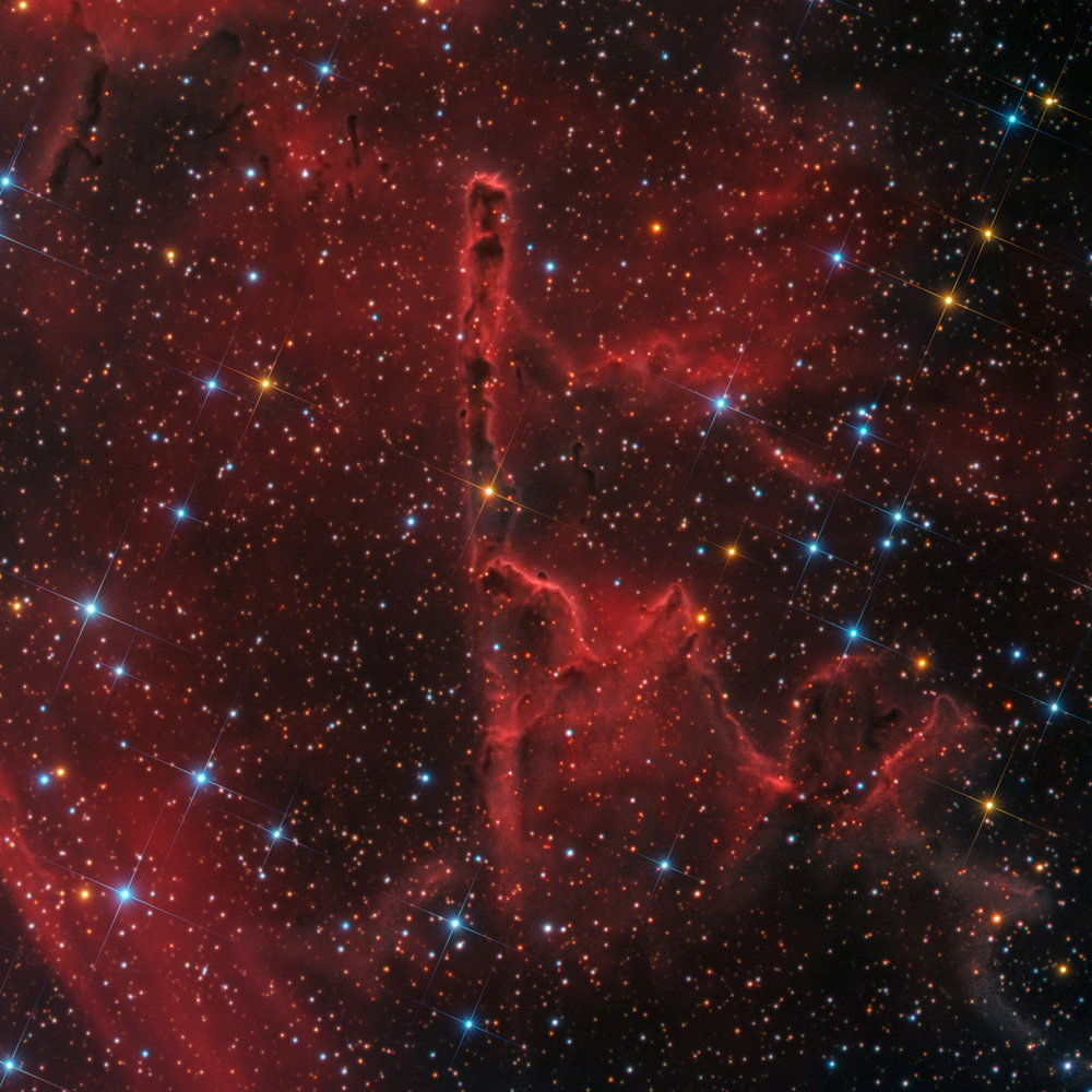 IC 1805, Pillar of Creation