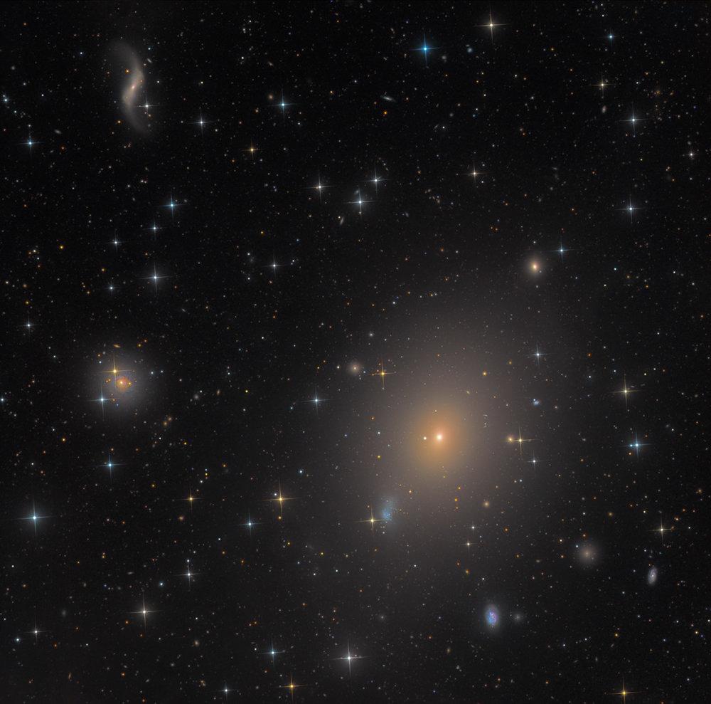 Messier 49 in Virgo