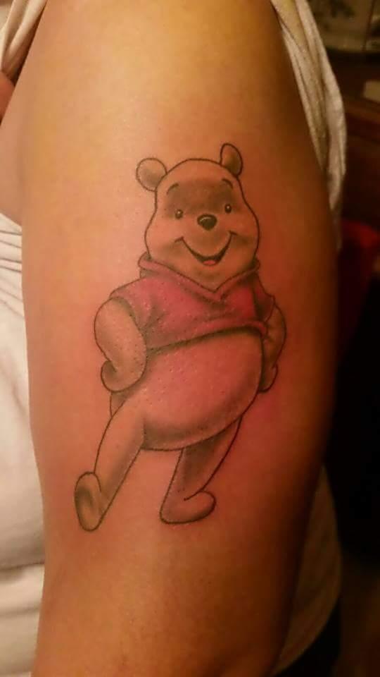 Winnie The Pooh by Scott Sherrill