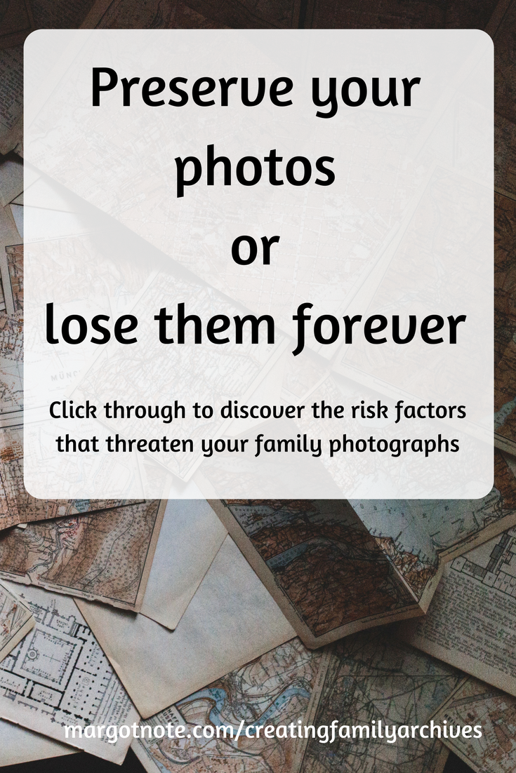 Preserve your photos or lose them forever