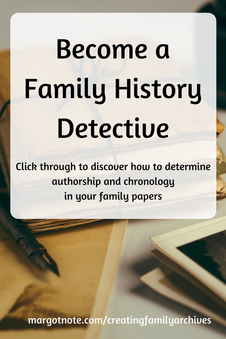Become a genealogy detective