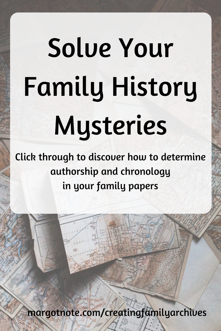 Solve your genealogy mysteries