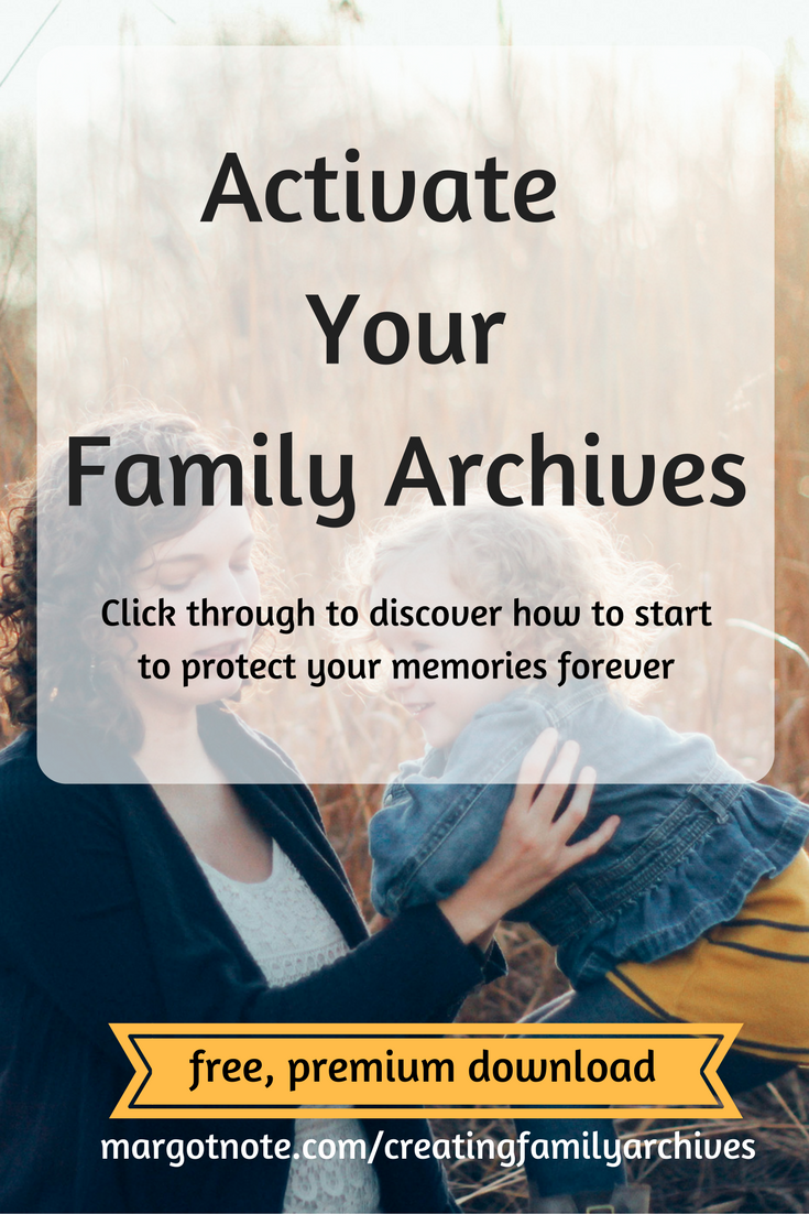 Activate Your Family Archives