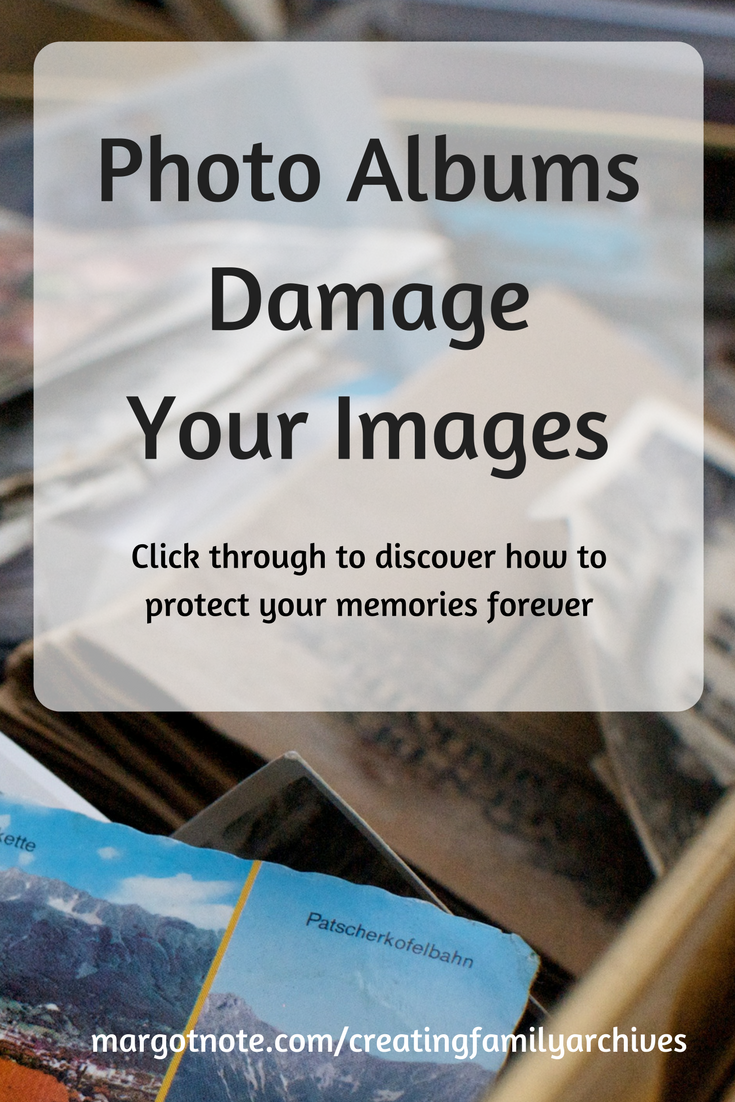Photo Albums Damage Your Images