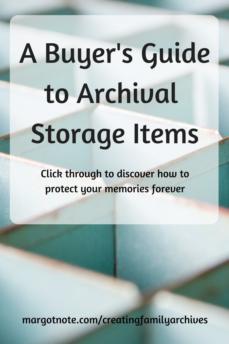 A Buyer's Guide to Archival Storage Items