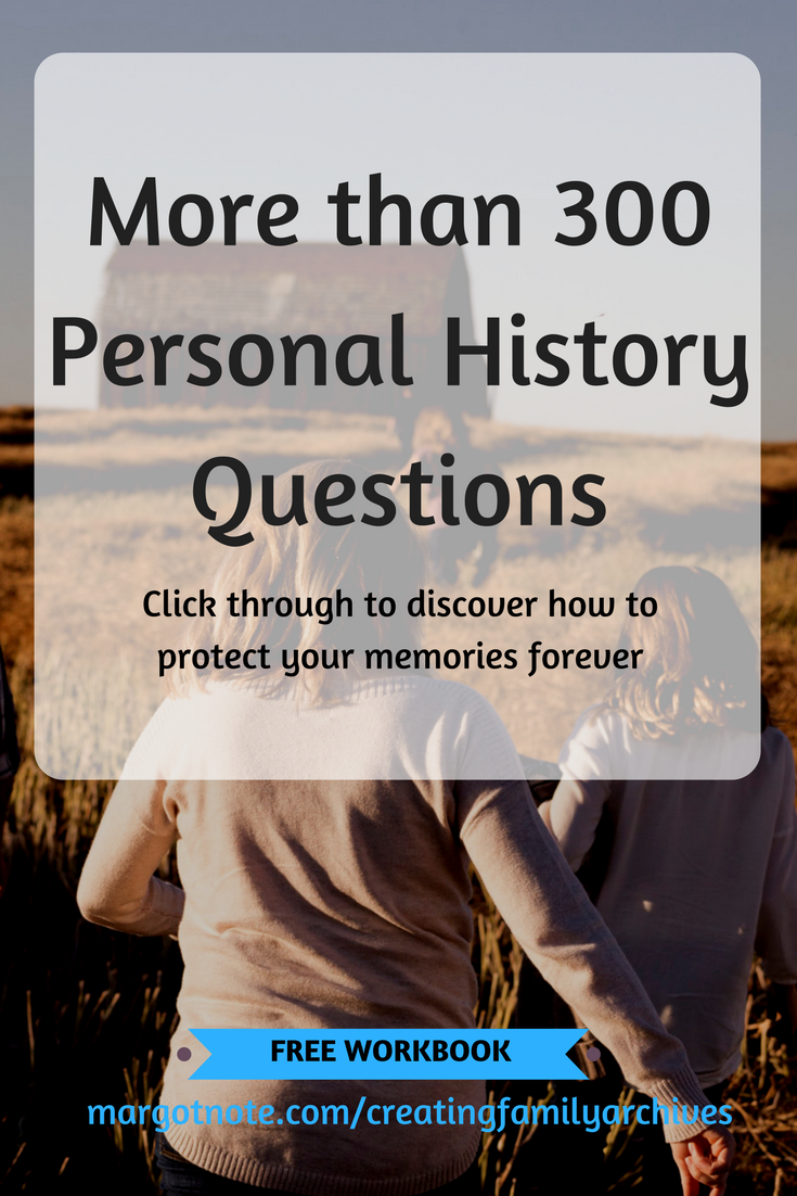 More than 300 Personal History Questions