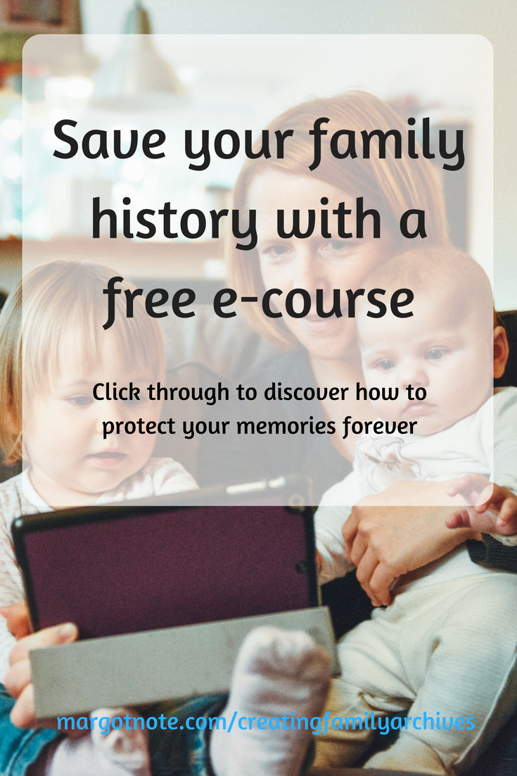 Save your family history with a free e-course