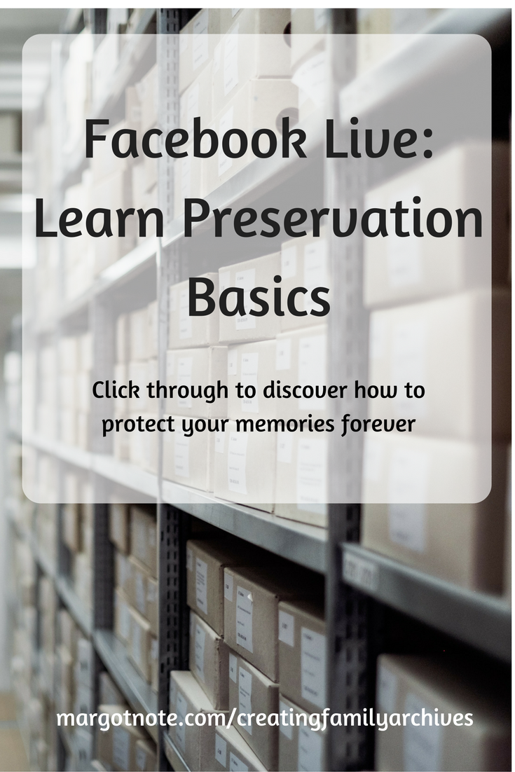 Facebook Live: Learn Preservation Basics