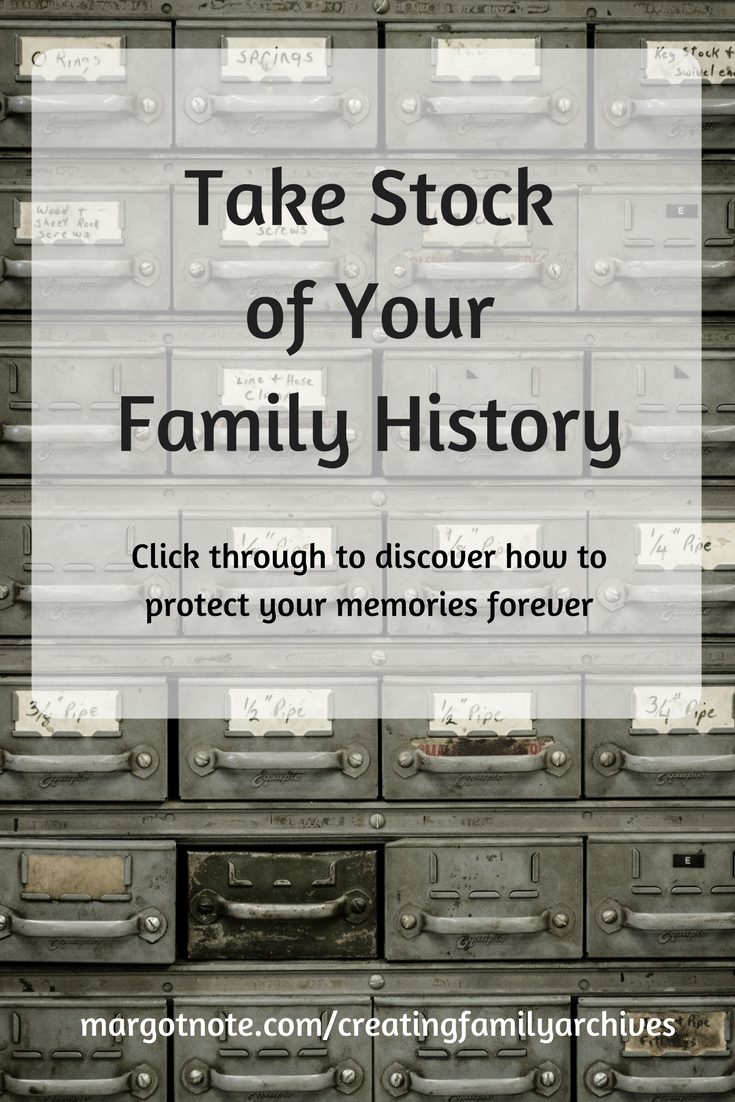 Take Stock of Your Family History
