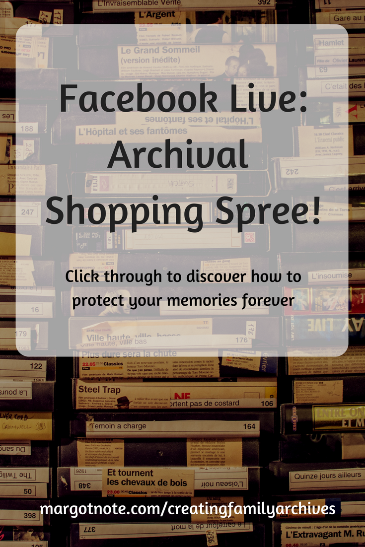 Facebook Live: Archival Shopping Spree