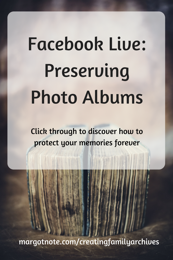 Facebook Live: Preserving Photo Albums