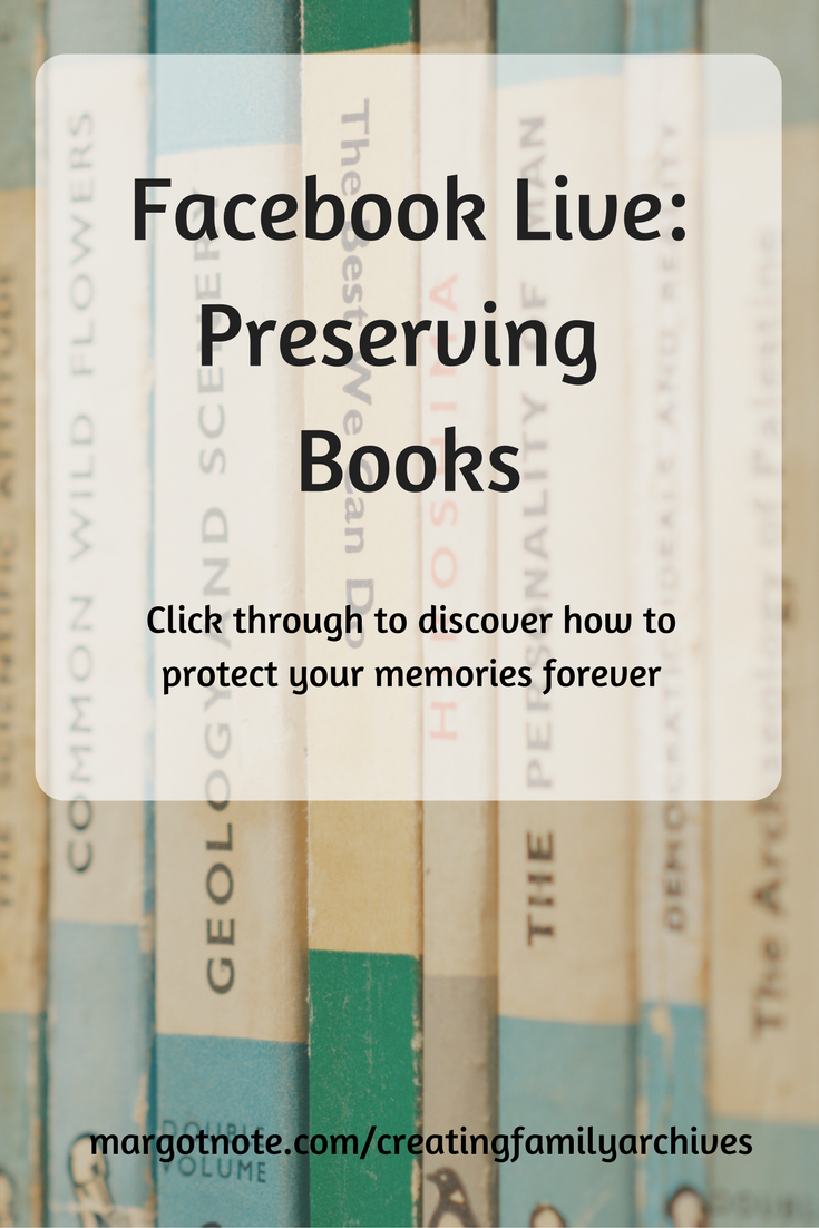 Facebook Live: Preserving Books