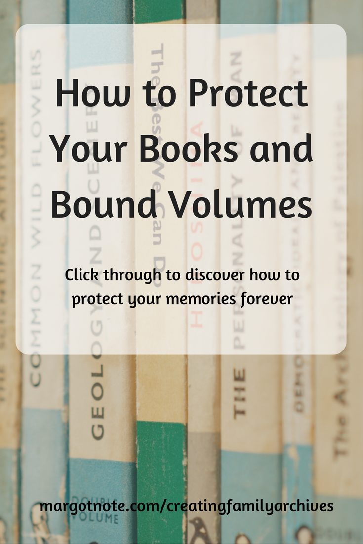 How to Protect Your Books and Bound Volumes