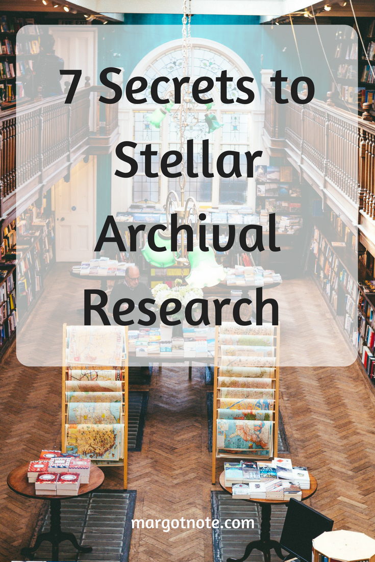 7 Secrets to Stellar Archival Research