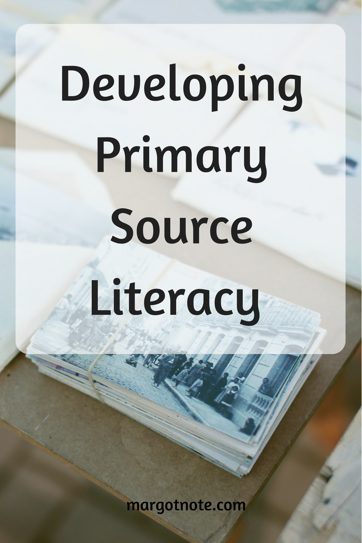 Developing Primary Source Literacy