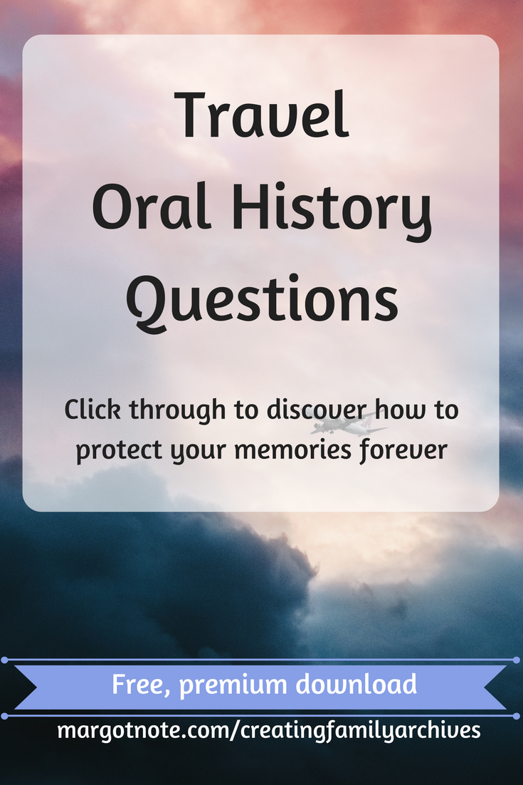 Travel Oral History Questions