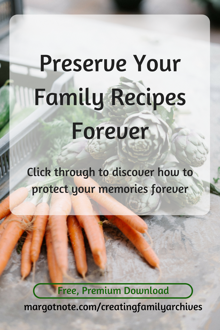 Preserve Your Family Recipes Forever