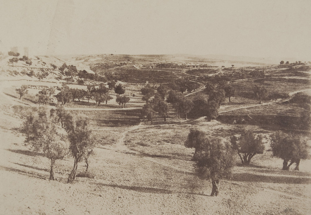 Fig. 6. Salzmann, Auguste. Jérusalem, Chemin de Beit-Lehem. 1854. Photograph. The Metropolitan Museum of Art, New York.