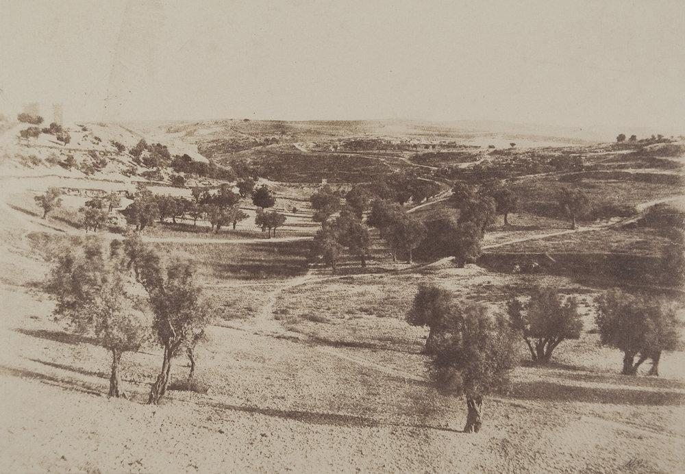 Fig. 6. Salzmann, Auguste. Jérusalem, Chemin de Beit-Lehem. 1854. Photograph. The Metropolitan Museum of Art, New York.