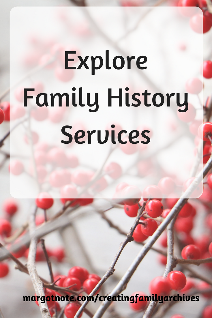 Explore Family History Services