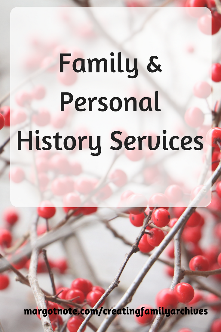 Family & Personal History Services