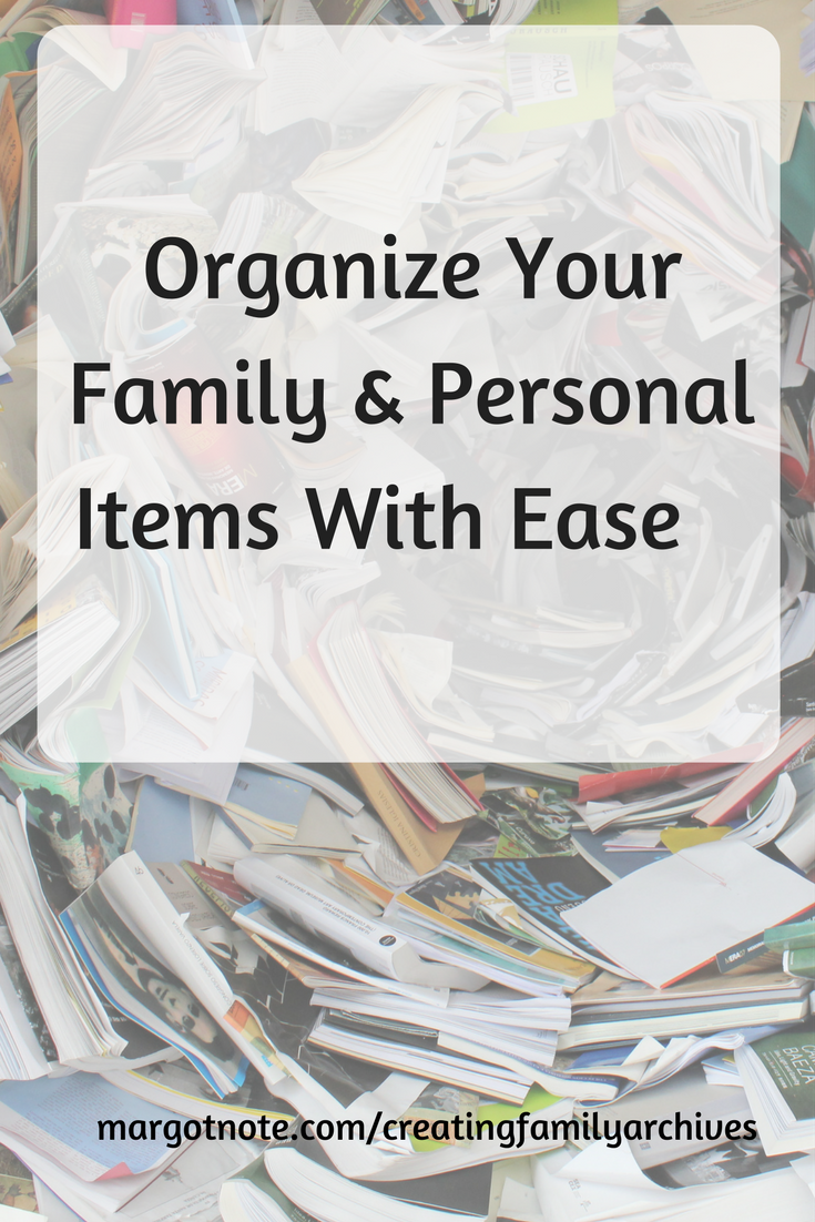 Organize Your Family and Personal Items With Ease