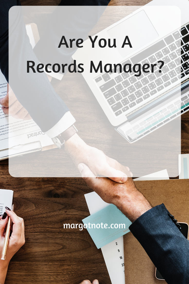 Are You A Records Manager?