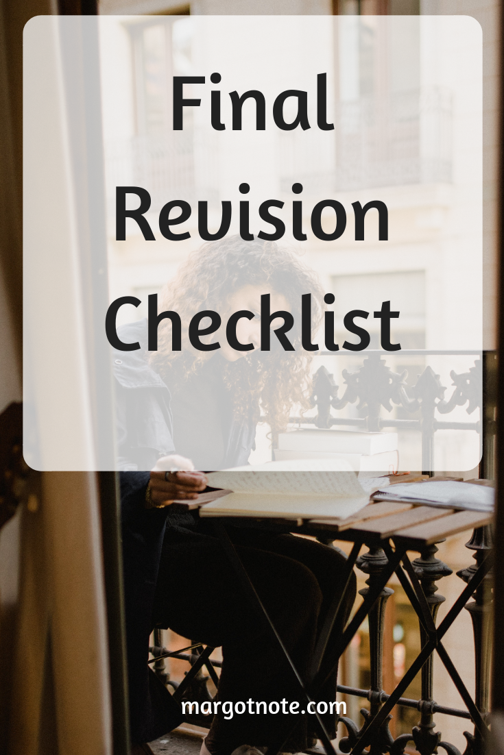 Final Revision Checklist