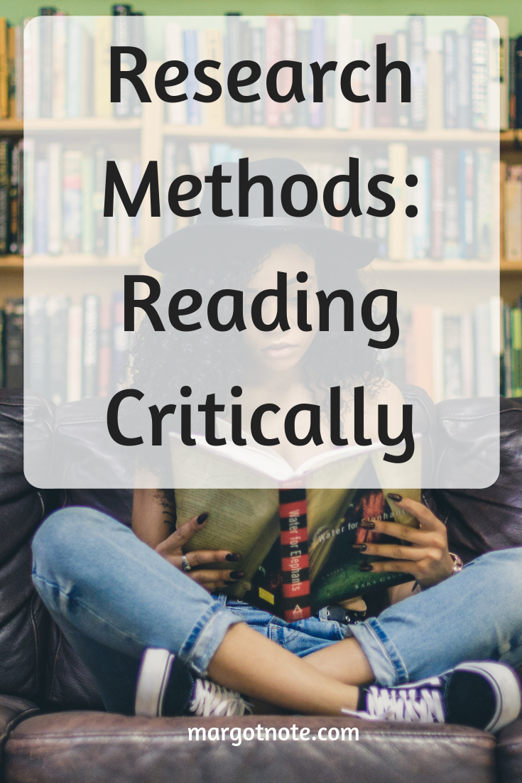 Research Methods: Reading Critically