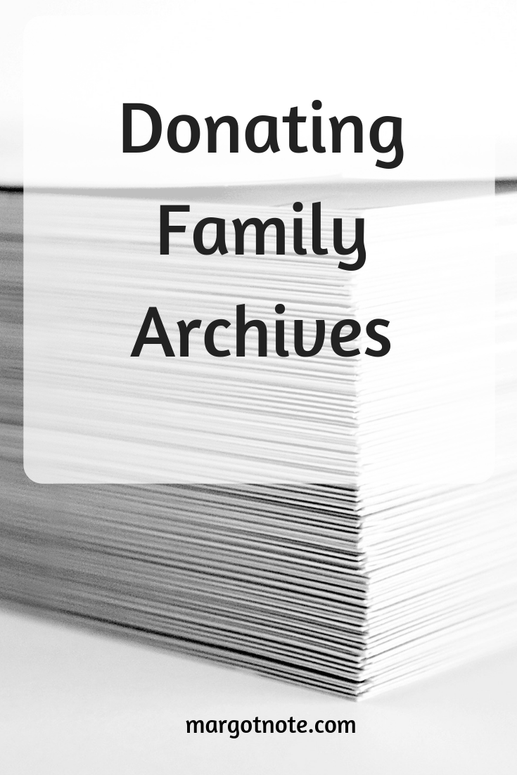 Donating Family Archives