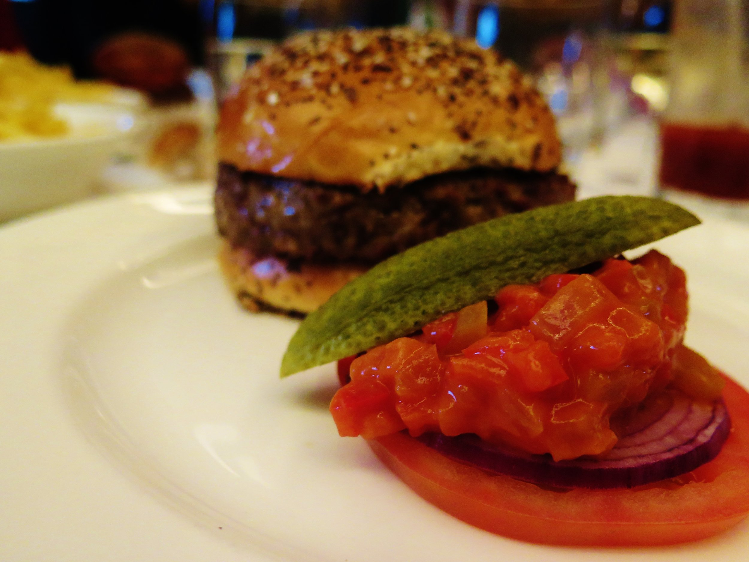 The Caprice burger, Le Caprice