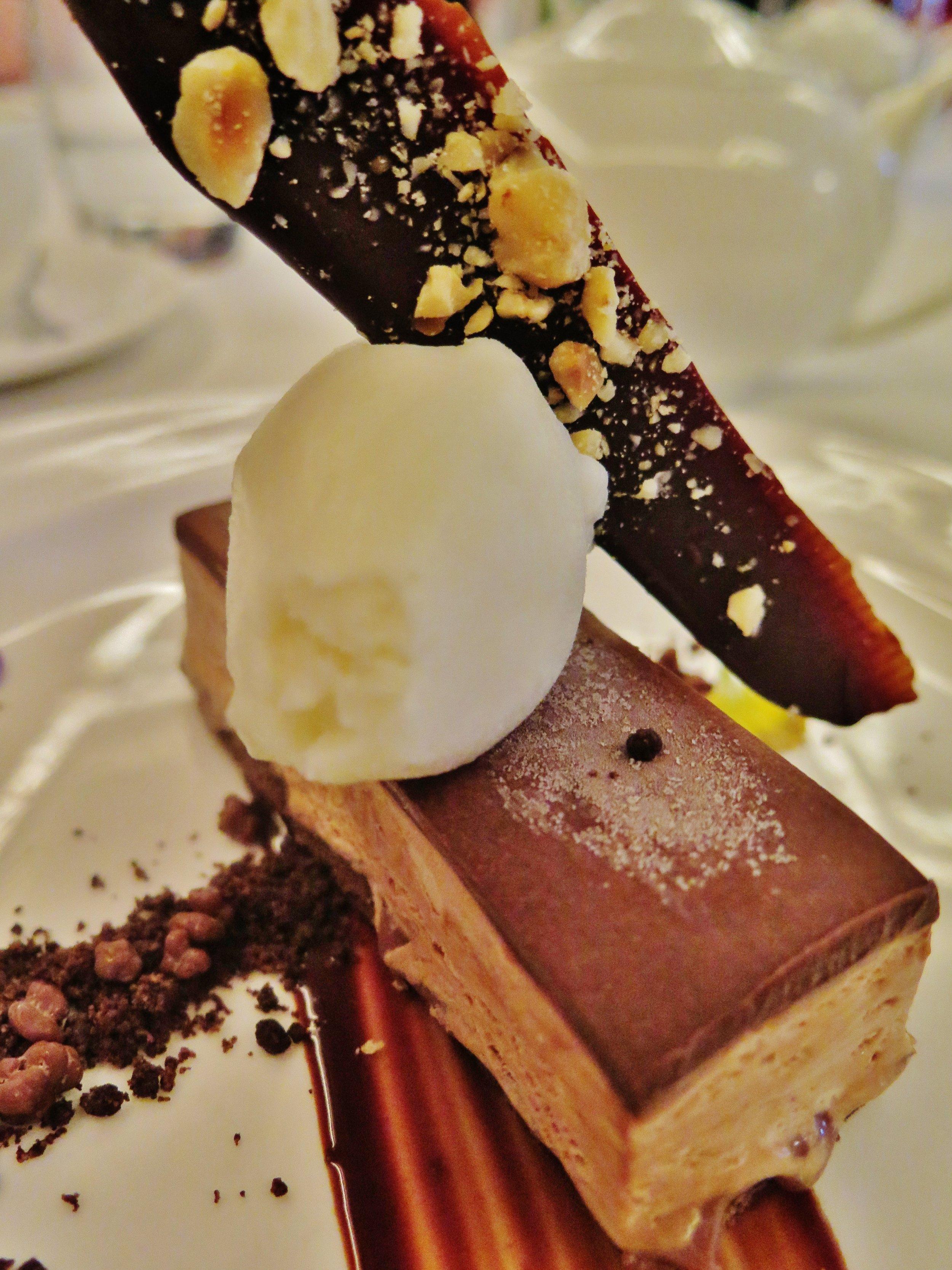 iced fleur de sel chocolate