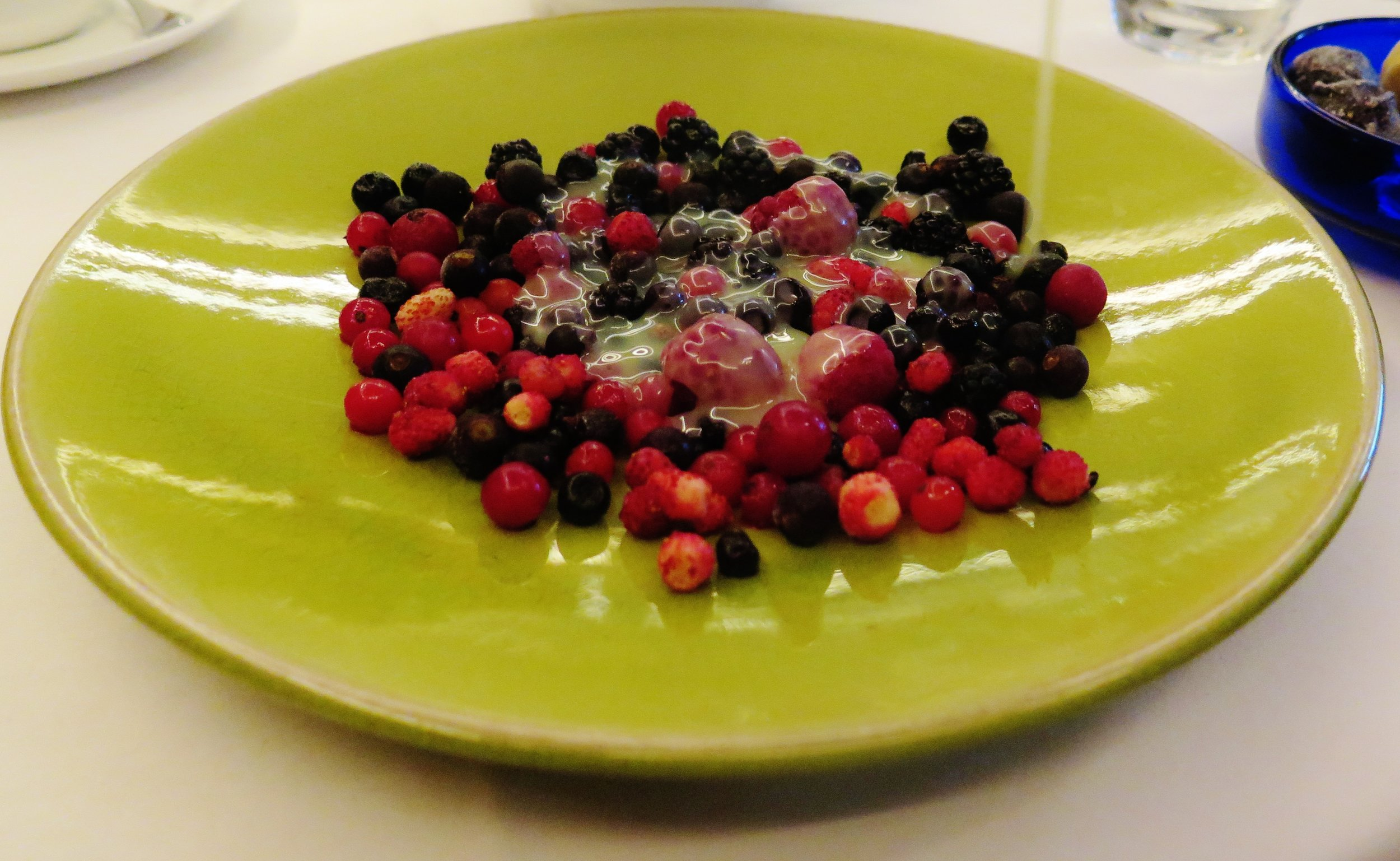 Iced berries, Le Caprice - an off-the-menu secret dessert