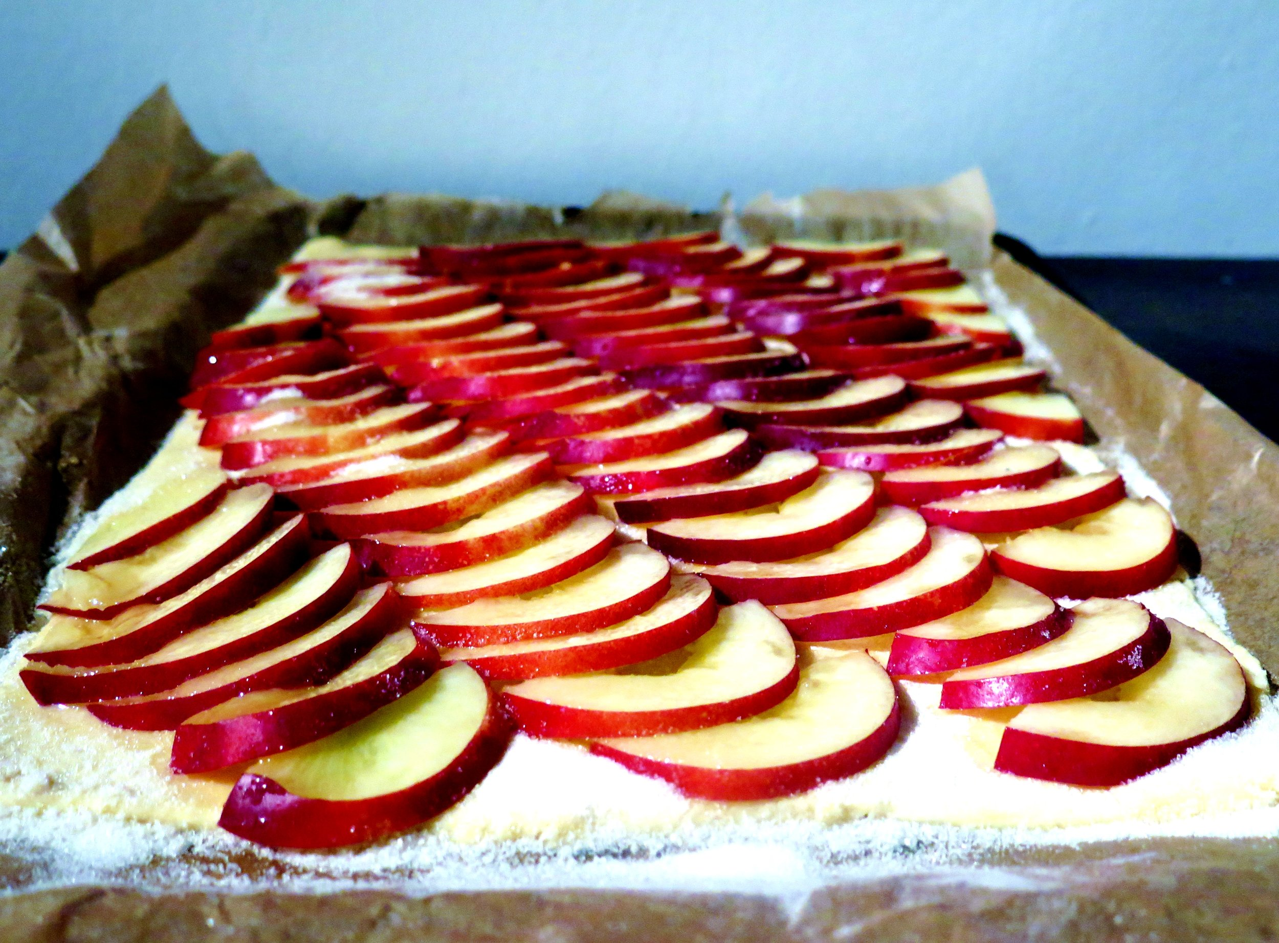 Tarte Aux Nectarines - Recipe