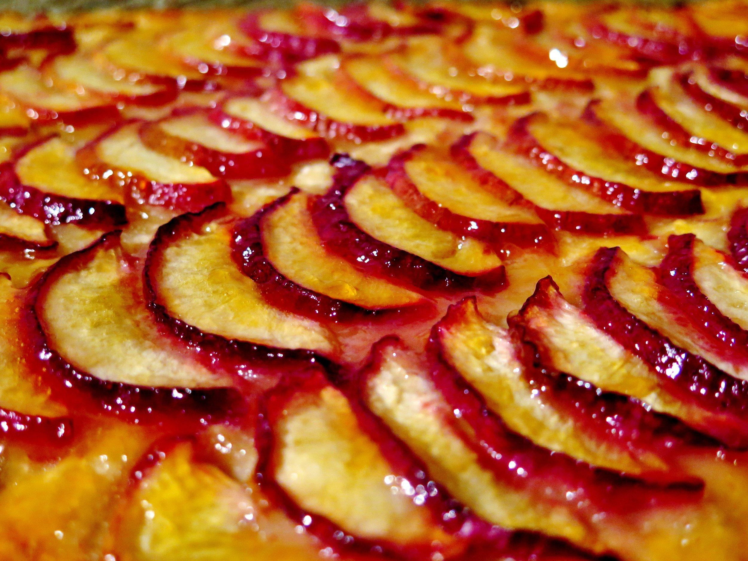 Tarte Aux Nectarines - Recipe