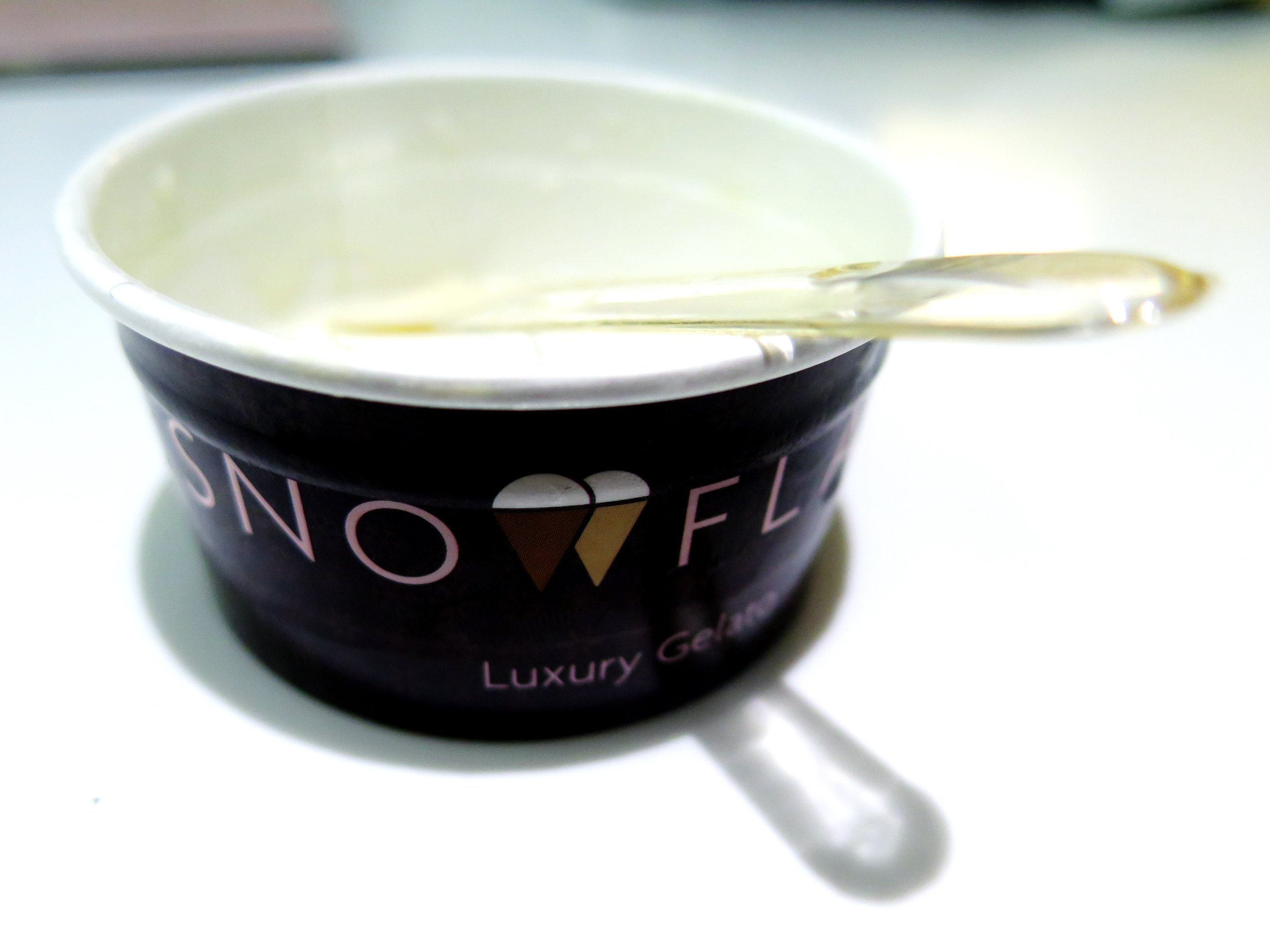Snowflake Luxury Gelato, London - Review