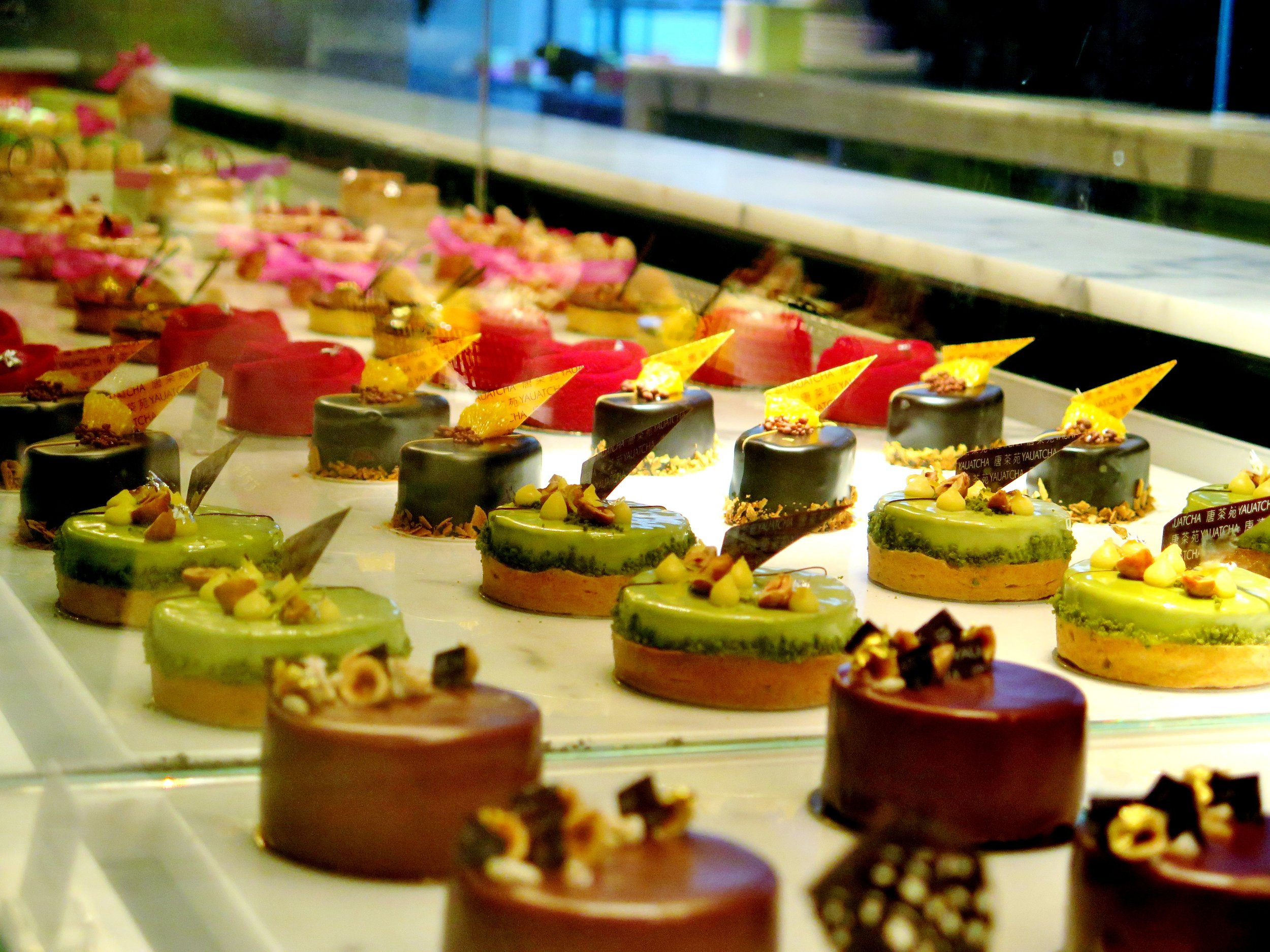 Yauatcha - Top 5 Cakes in London