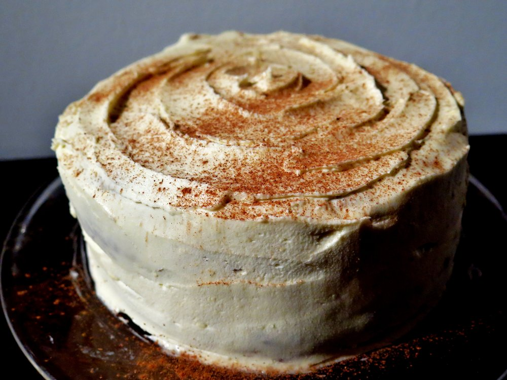 Sumptuous Carrot Cake - Recipe