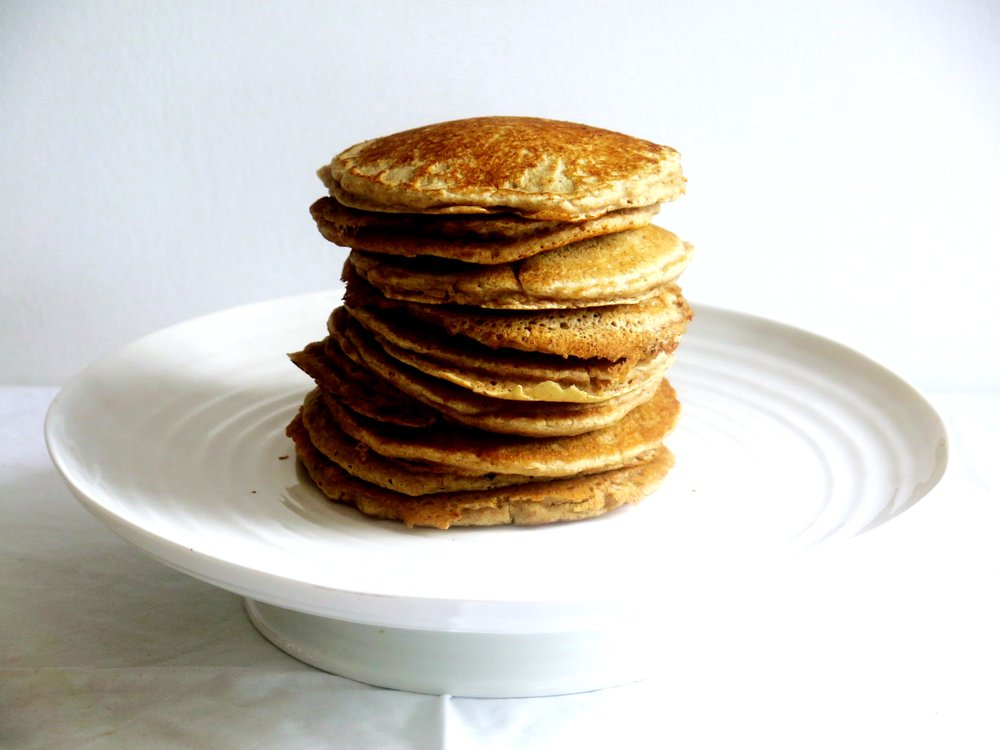 Wholesome American Style Spelt Pancakes (Dairy-free) - Recipe