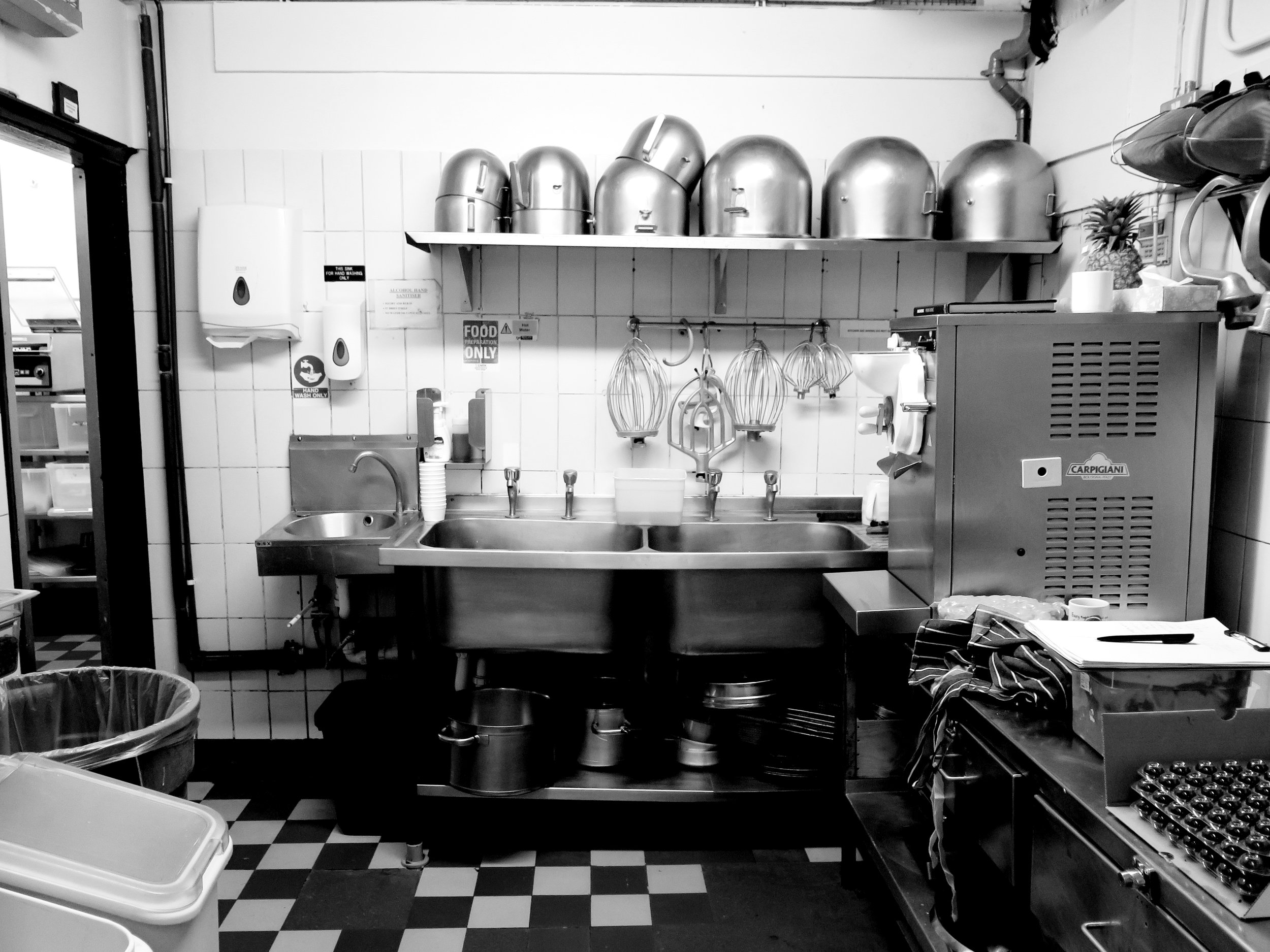 On the other side of the door : inside the kitchens of Le Caprice (Part 1)