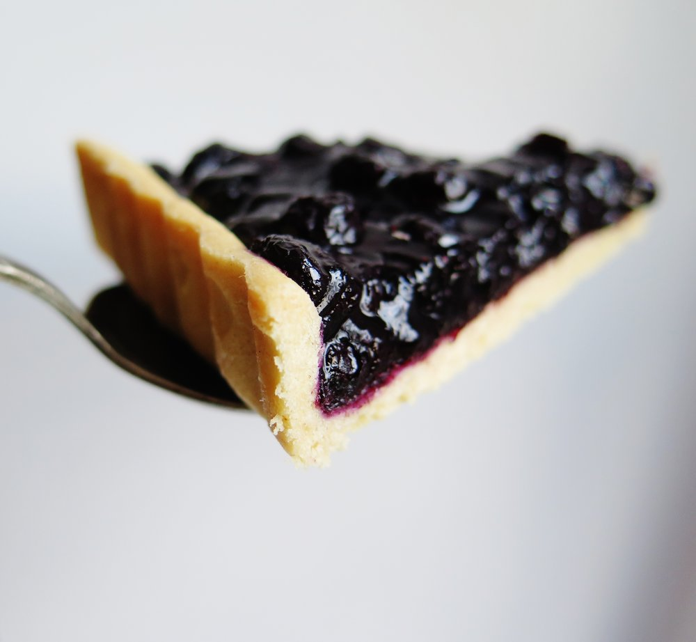 Spiced Blueberry Tart