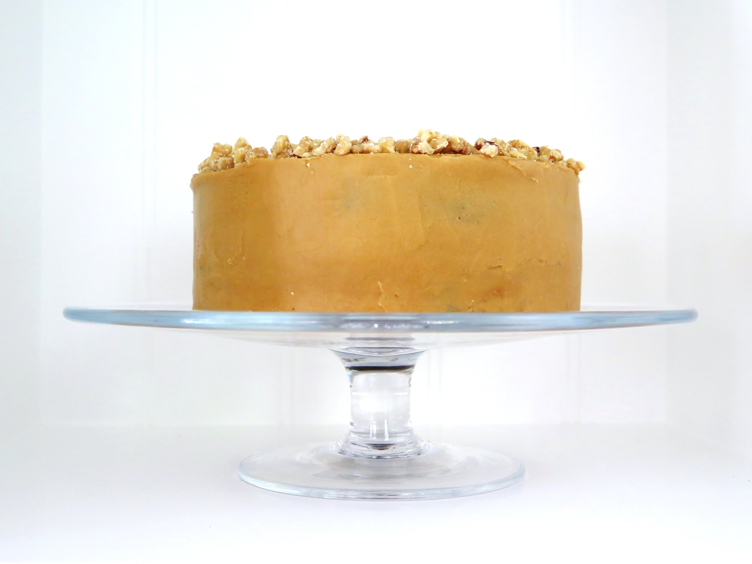 Triple Coffee & Caramelised Walnut Cake
